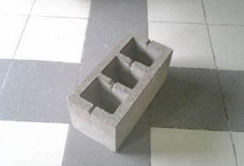 Керамзитный 3 щелевой блок 500Вт/м Код И-05
