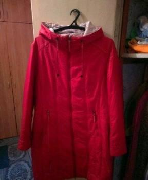 Куртка (пальто) 52-56 демисезон новая, одежда для мужчин на осень, Колывань, цена: 2 000р.