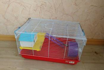 Клетка для хомяка, Андреаполь, цена: 600р.