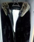 Джинсовая одежда для полных женщин купить, мутоновая шуба с капюшоном, Волгоград