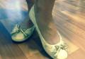 Балетки нуральная кожа, женская обувь в интернет магазине, Клин