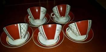 Набор чайных чашек 50 лет Октября