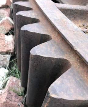 Венцовая шестерня диаметр 2800мм, крепление кпп зил 130, Керчь, цена: 390 000р.