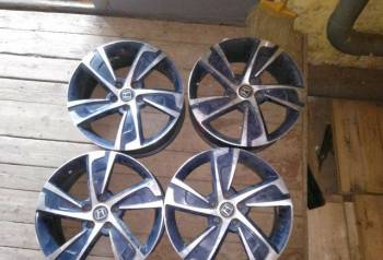 Оригинальные литые диски на шкода рапид r14, диски на хонду c-rv, Кострома, цена: 14 000р.