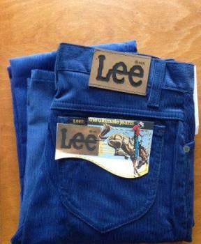 Джинсы Lee W32xL34 вельвет made in UK винтаж, купить джинсы мужские levis в интернет магазине недорого