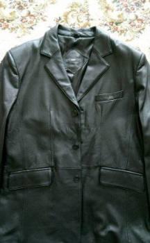 Рубашки мужские из льна, новый мужской кожаный пиджак