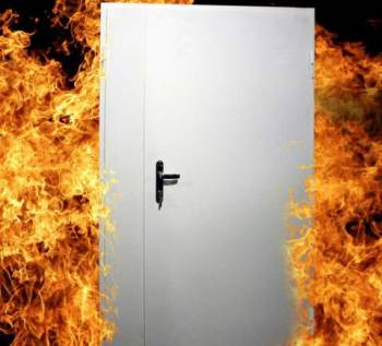 Двери металлические противопожарные