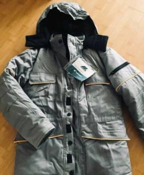 Куртка мужская зимняя термостойкая, размер 44-46, мужские кожаные куртки на полных
