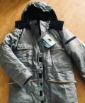 Куртка мужская зимняя термостойкая, размер 44-46, мужские кожаные куртки на полных, Коммунарка