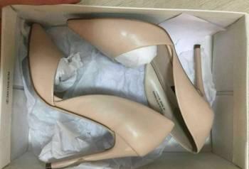 Туфли женские 36 р. в отличном состоянии, туфли лодочки каблук