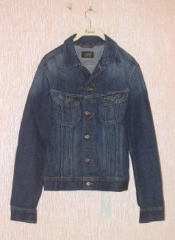 Куртка джинсовая Lee, мужское пальто из нерпы