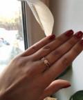 Кольцо серебро 925 с позолотой 585, Саратов