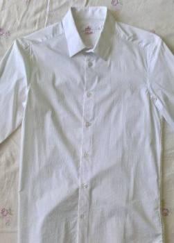 Рубашка белая, купить теплый зимний спортивный костюм, Томаровка, цена: 200р.