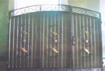 Кованые ворота арт. N1 3403х1607