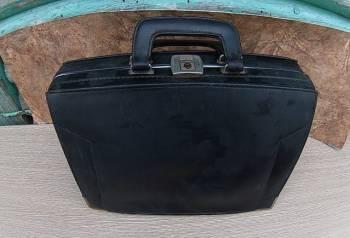 Винтажный, большой портфель, саквояж, сумка. СССР