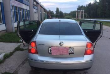 Volkswagen Passat, 2002, шкода октавия 2005 года цена