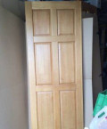 Двери массив сосны пу лак (комплект), Кушва