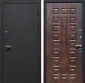 """Дверь входная стальная """"Сд-06 Темное дерево"""", Железнодорожный"""