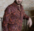 Рубашка зара с жемчугом, мужская итальянская рубашка, Загорянский