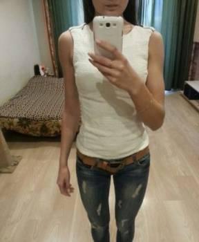 Купить джинсы женские цветные, кофточка 42 р-р