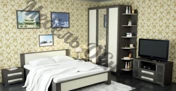 "Спальня ""Сити"" со шкафами, комодом и кроватью, Локоть, цена: 34 950р."
