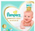 Pampers premium care 3 114 шт, Севастополь