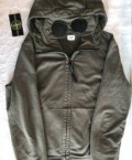 Cp company diagonal goggle zip hoodie, купить мужские футболки дешево, Васильково