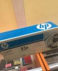 Картридж HP 53А б/у заправлен, Сокольское