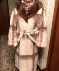 Шуба из стриженного бобра с норковой отделкой, одежда мелким оптом без рядов интернет магазин, Самара