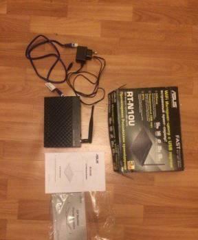 Wi-Fi-роутер asus RT-N10U, Брянск, цена: 900р.