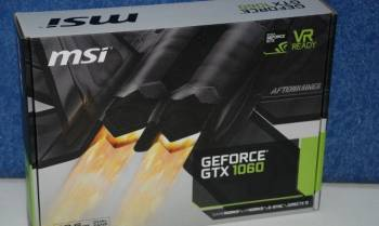 Видеокарта PCI-E 6144Mb MSI GTX 1060 6GT New, Кротовка, цена: 20 500р.