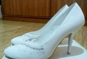 Женская обувь больших размеров шафа, туфли свадебные р 37, 5-38