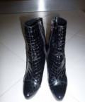 Демисезонные ботинки р. 39, сапоги женские зимние дутые, Омск