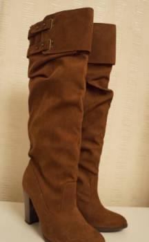 Обувь из кожи крокодила купить, сапоги демисезонные Zara размер 39, Лесниково, цена: 500р.