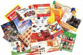 Визитки, листовки, буклеты. Типография \'Рекламный легион\', Москва