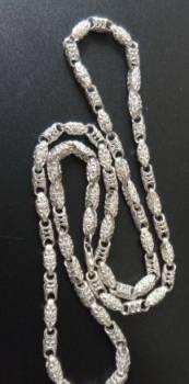 Серебряная цепь, литая, 26, 47 грм, 53, 0 см