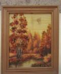 Картина «Осень, масло, янтарь, Москва