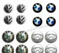 Алюминиевые наклейки на колпачки Renault и другие, коврики для шкоды октавия цена, Пенза