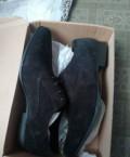 Купить ботинки зимние мужские, черные дерби/туфли для широкой стопы, Шебекино