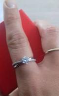 Кольцо серебро с фианитами, Пенза