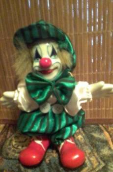 Клоун кукла фигурка