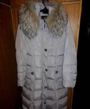 Зимнее пальто с натуральной опушкой, красивая одежда для взрослых женщин, Красноярка, цена: 1 000р.