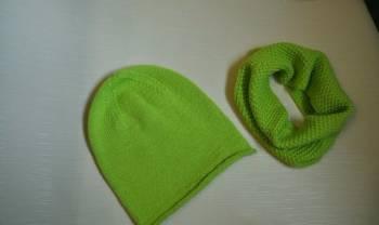 Комплект на осень/весну шапка-бини и снуд, интернет-магазин одежды больших размеров для женщин недорогой
