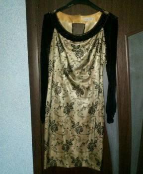 Шуба мутон поперечка купить, платье 44-46, Шадринск, цена: 1 000р.