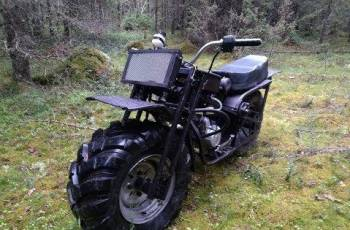 Кроссовые мотоциклы 2018 года, двигатель для вездехода, Онега, цена: 28 000р.