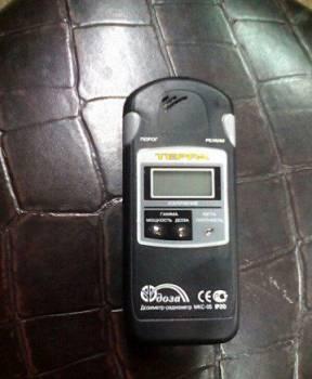 Детектора индикатор радиоактивности. Терра мкс05