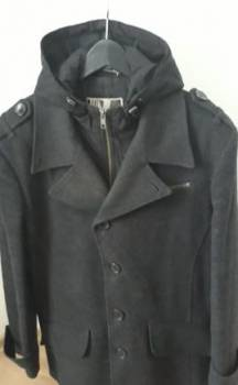 Норвежские пуховики для мужчин купить, демисезонное пальто в отличном состоянии, Мамадыш, цена: 1 700р.