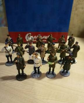 Коллекция фигурок Оловянных солдатиков вов, Ухолово, цена: 3 000р.