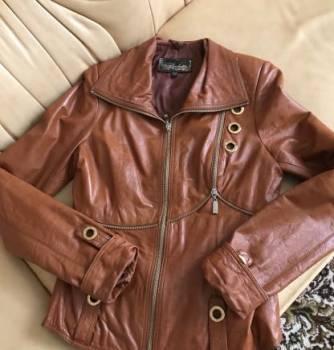 Натуральная кожаная куртка, джентльмены удачи штаны в цементе, Симферополь, цена: 500р.