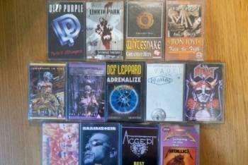 Аудиокассеты с записями